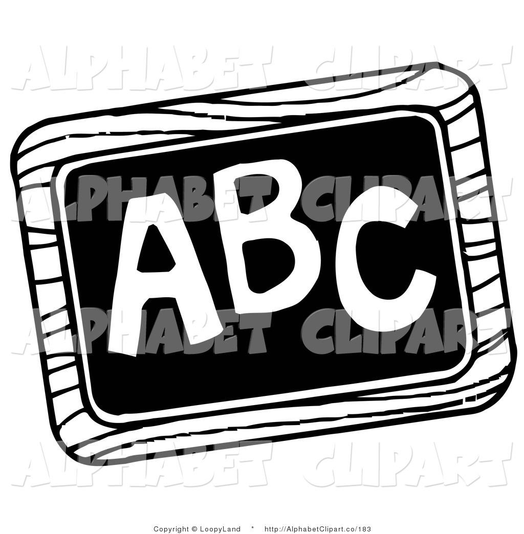 Black And White Abc Blocks : Back to school clip art black and white clipart panda