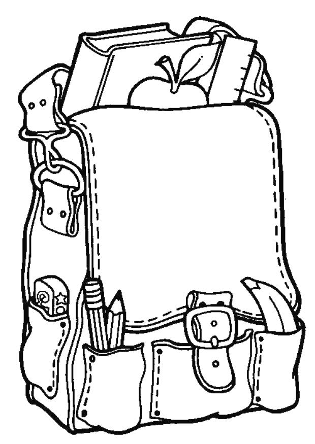 Back to school coloring pages for preschool clipart for Kindergarten school coloring pages