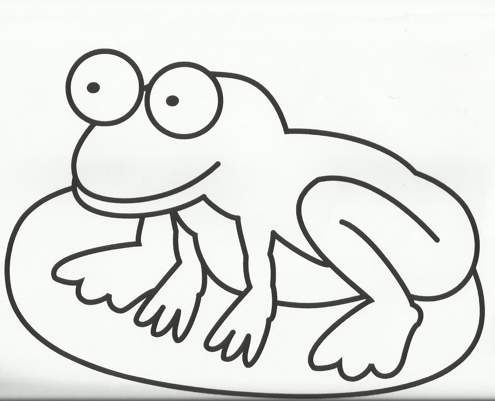 Lily Frog Color Frog Printable Coloring Pages Free Download