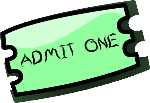 Ticket clip art - vector