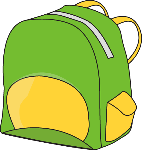 Image result for backpack clipart