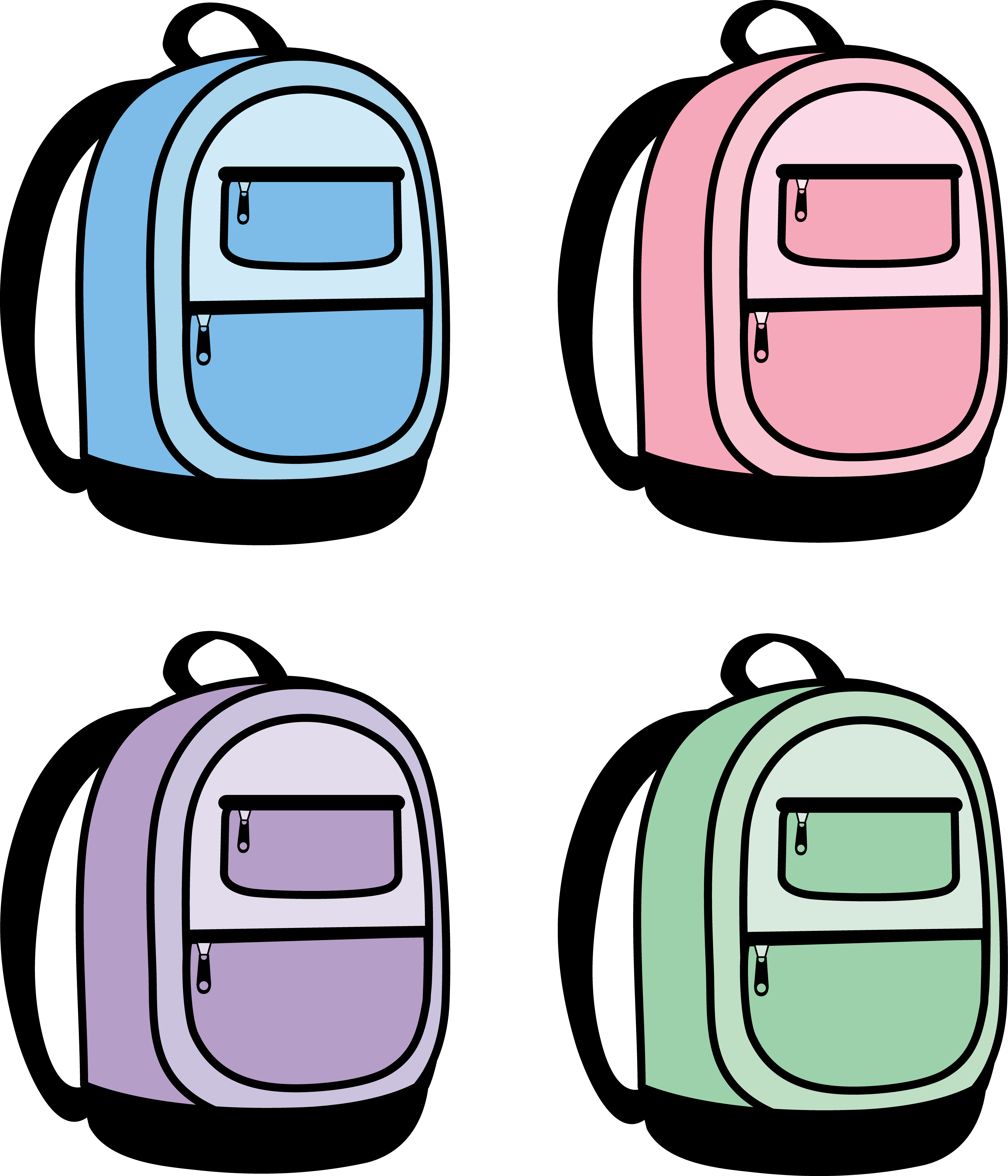 school backpack clipart clipart panda free clipart images rh clipartpanda com backpack clip art no background backpack clip art outline