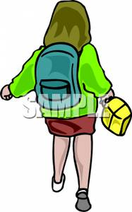 Backpack For Girls | Clipart Panda - Free Clipart Images