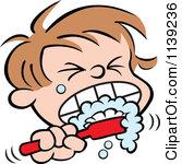 cartoon brushing teeth clip art Car Tuning