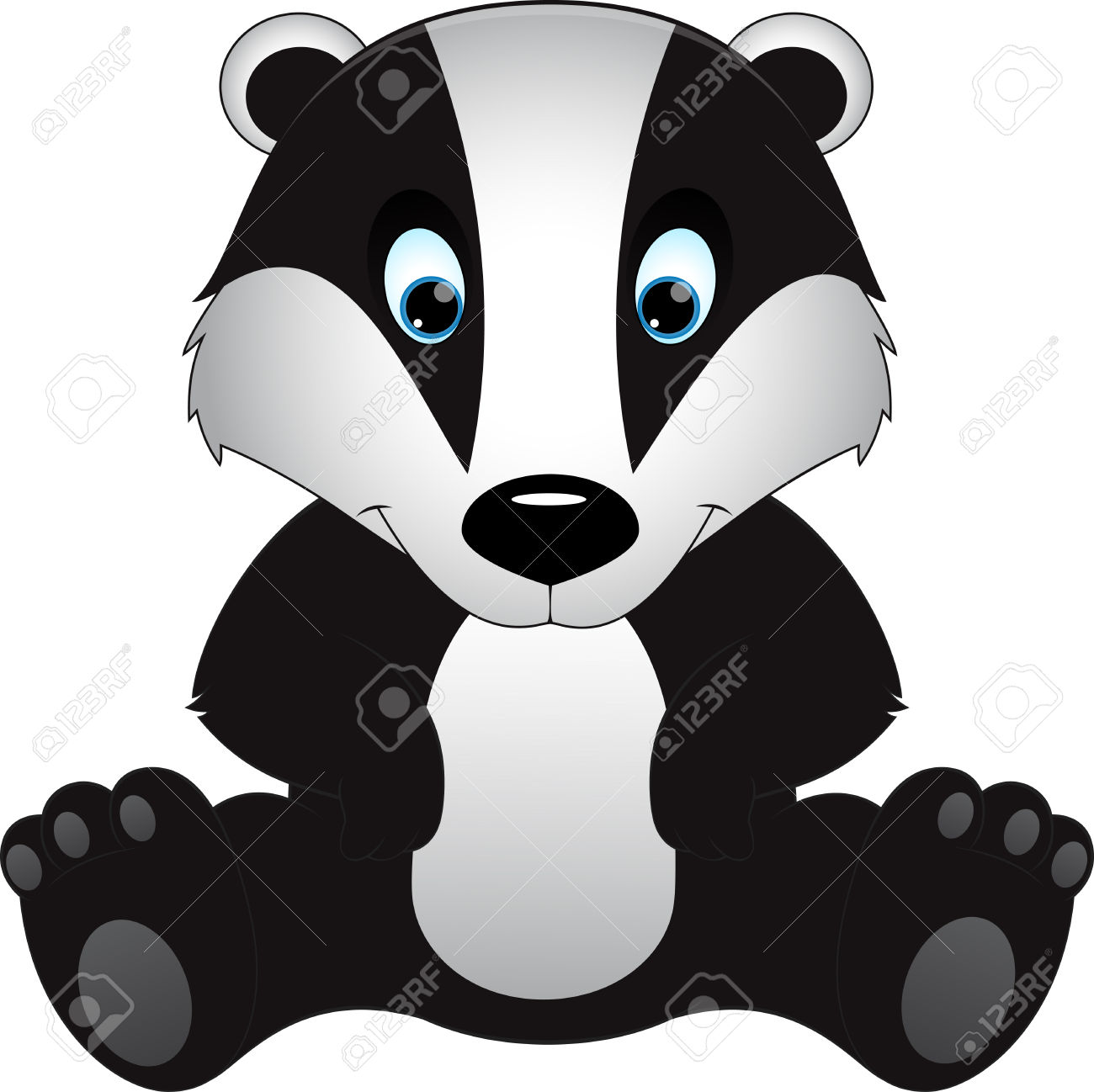 badger clipart clipart panda free clipart images