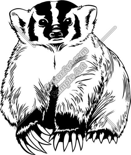badger clipart clipart panda free clipart images rh clipartpanda com honey badger clipart badger clipart black and white