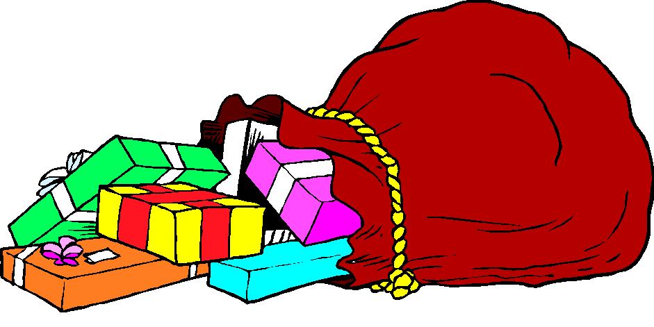 santa bag clipart free - photo #9