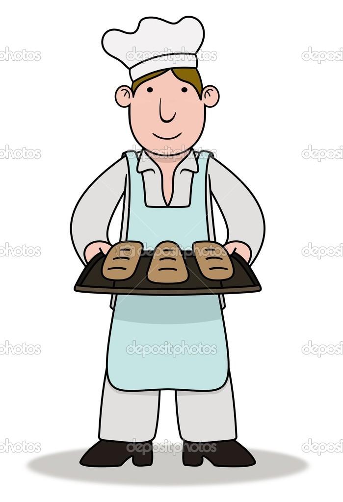 Male Cake Baker