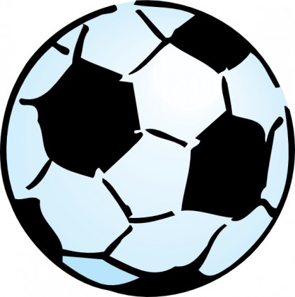 Blue Soccer Ball Clip Art | Clipart Panda - Free Clipart Images
