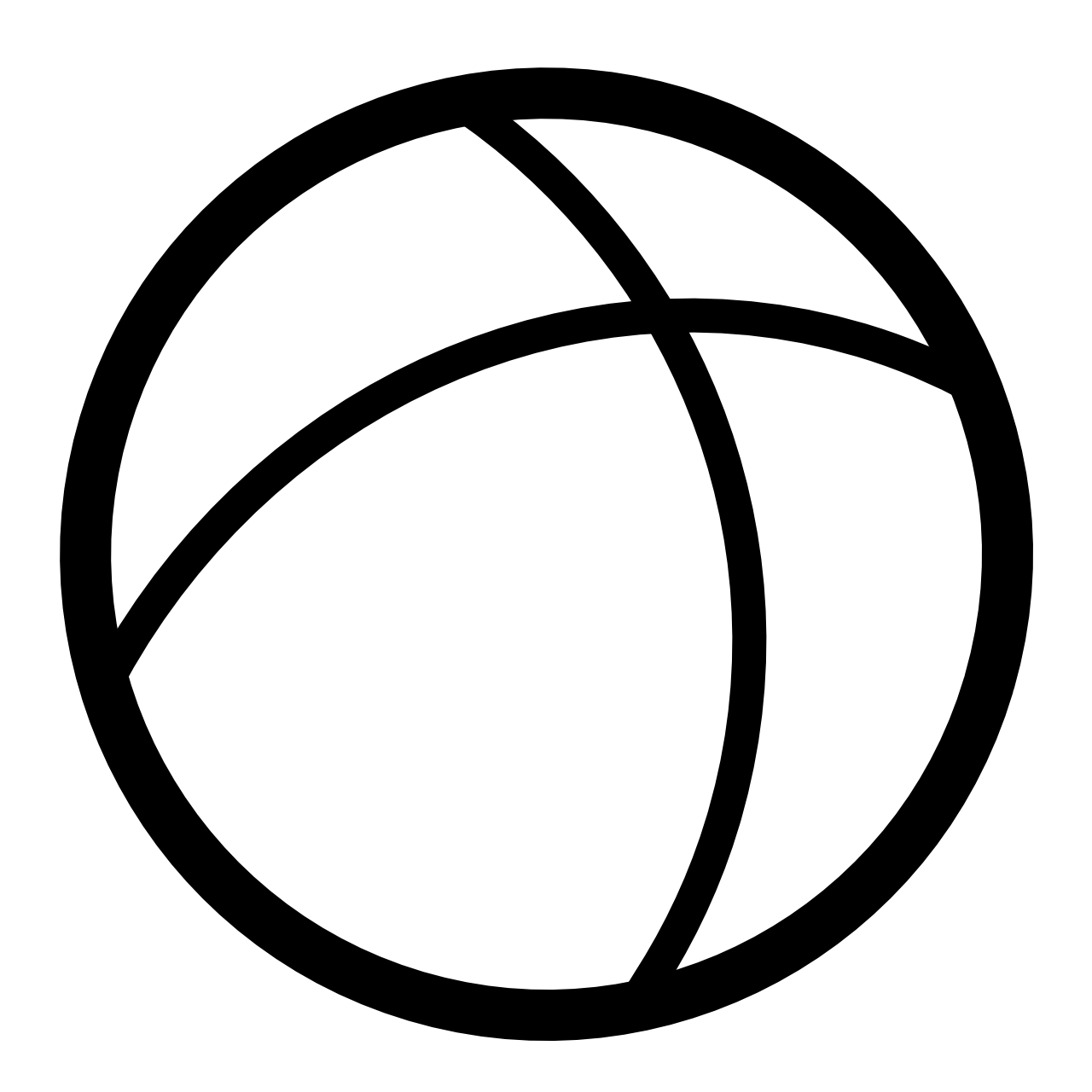 High Quality Ball Clipart Black And White