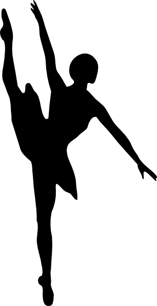 Jazz Dancer Clipart Silhouette | Clipart Panda - Free ...