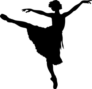 Ballet Dancer Clipart Silhouette   Clipart Panda - Free ...