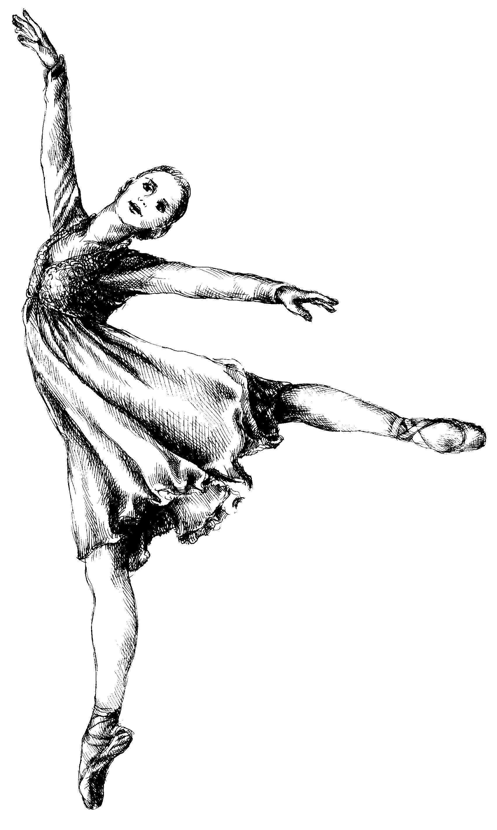 Ballet Shoes Clip Art..