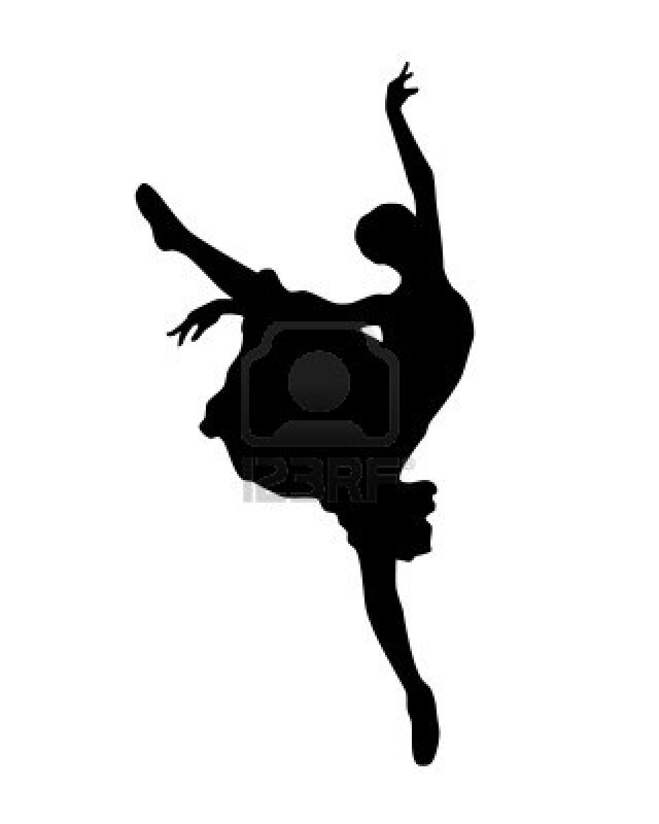 dance silhouette coloring pages - photo#24