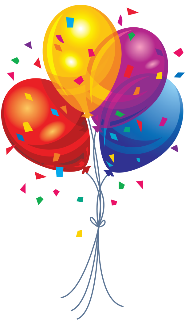 clipart balloons png - photo #3