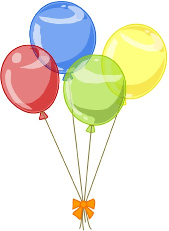 Party Balloons Clipart | Clipart Panda - Free Clipart Images