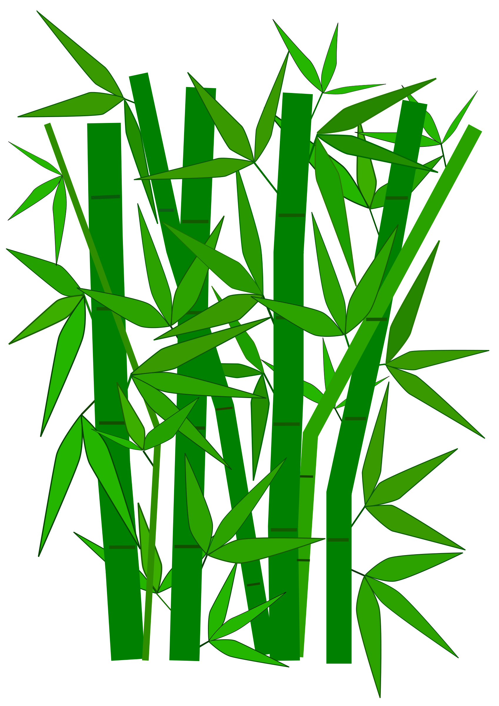 Bamboo Leaves Clip Art | Clipart Panda - Free Clipart Images