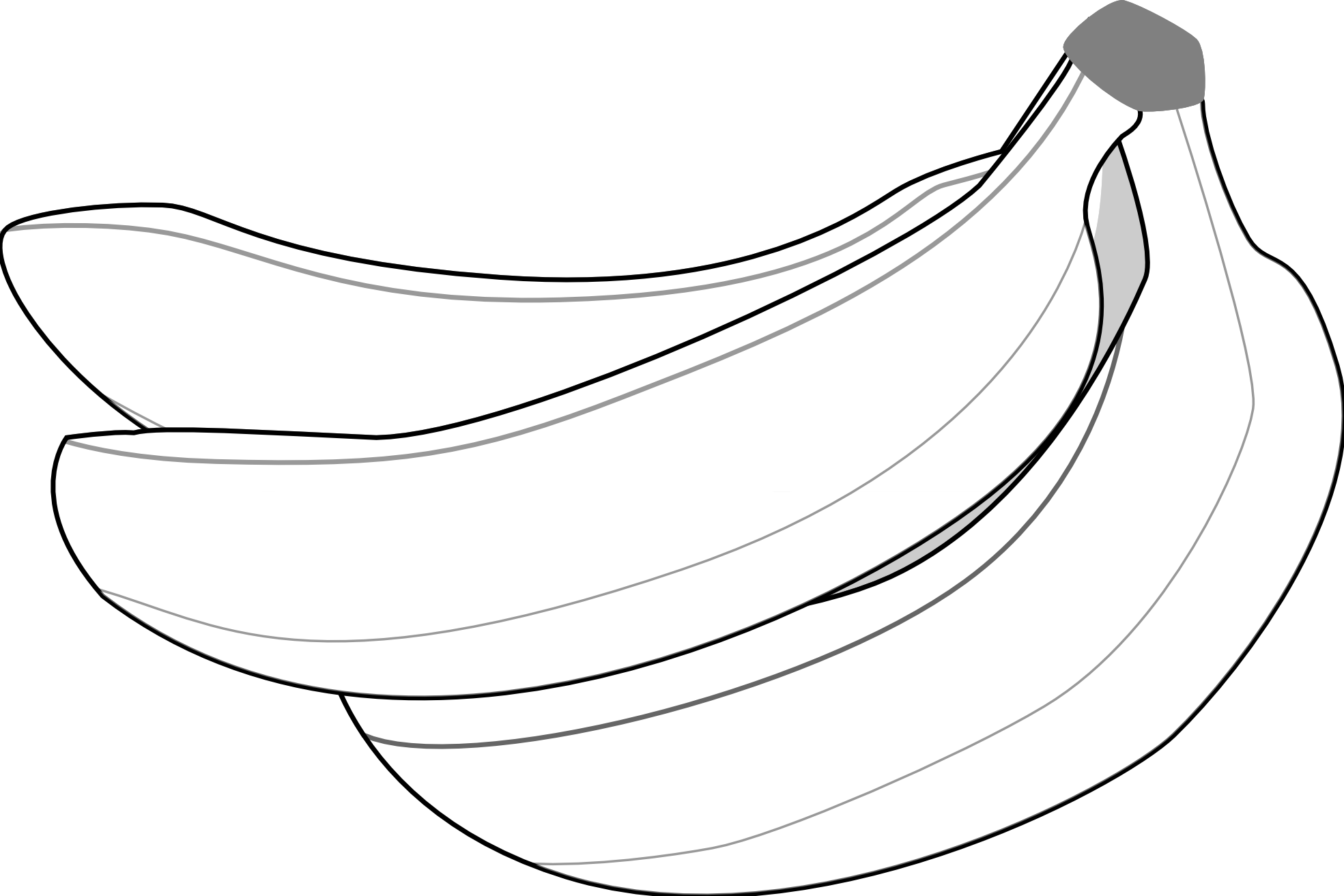 banana%20clipart%20black%20and%20white