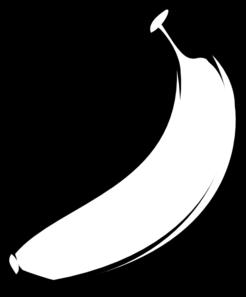 Black And White Banana Clipart | Clipart Panda - Free ...