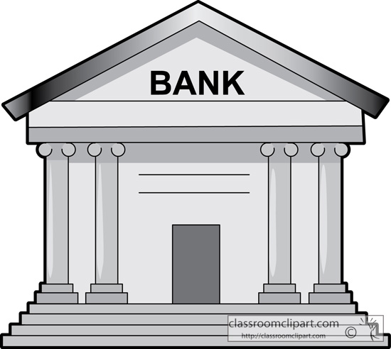 Bank clip art free clipart panda free clipart images for Free money to build a house