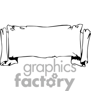 Banner scroll. Ribbons banners clipart panda