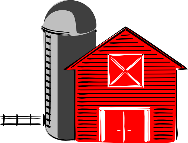 Barn Clip Art This Red Is In