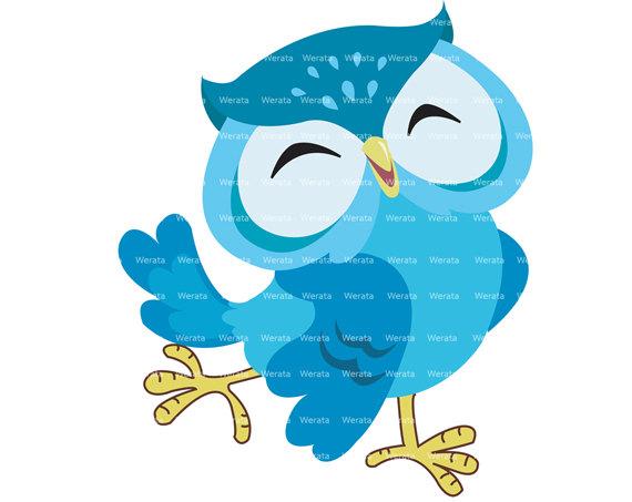 blue owl clip art digital clipart panda free clipart images rh clipartpanda com Owl Family Clip Art Brown Owl Clip Art