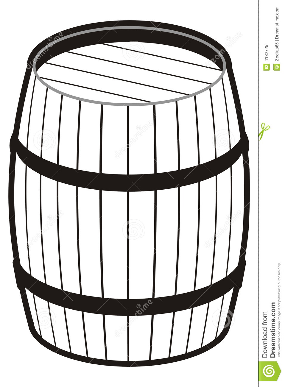 Barrel Clipart Free on Clip Art Christmas Tree Outline
