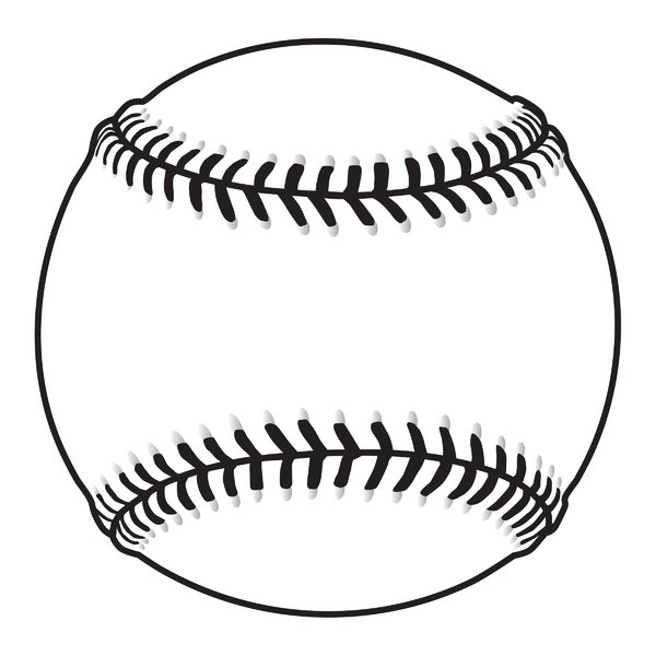 Baseball ball vector clipart panda free clipart images for Softball vector free download