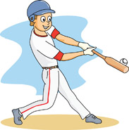 baseball player at bat hitting clipart panda free clipart images rh clipartpanda com basketball player clipart baseball player clipart images