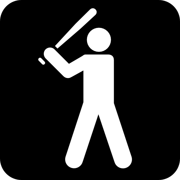 baseball%20diamond%20clipart%20black%20and%20white