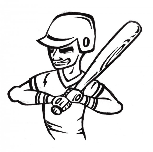 baseball field coloring page clipart panda free clipart images