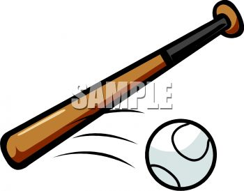 Baseball Bat And Moving Ball Clipart Panda Free Clipart Images