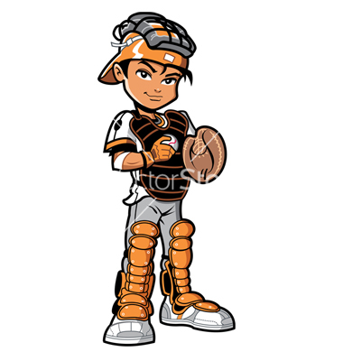 Baseball Player Clipart Catcher | Clipart Panda - Free ...