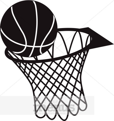 basketball hoop clip art clipart panda free clipart images rh clipartpanda com basketball hoop clipart black and white basketball going through net clipart