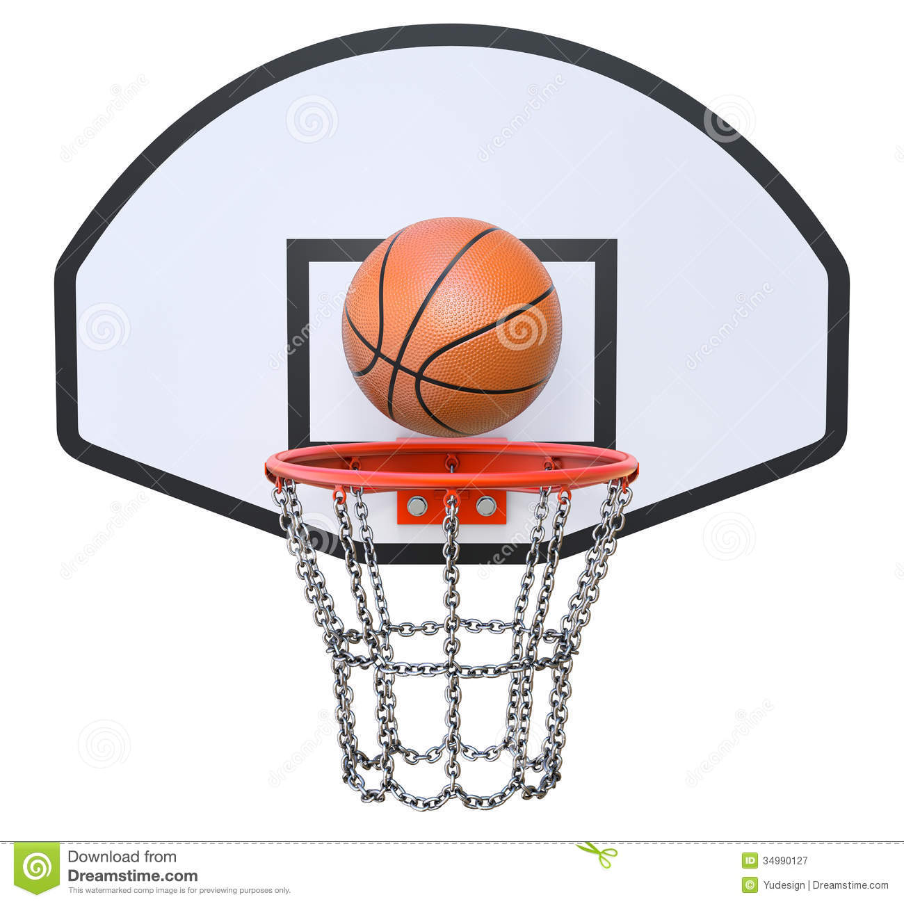 Basketball Hoop Swoosh Clipart | Clipart Panda - Free ...
