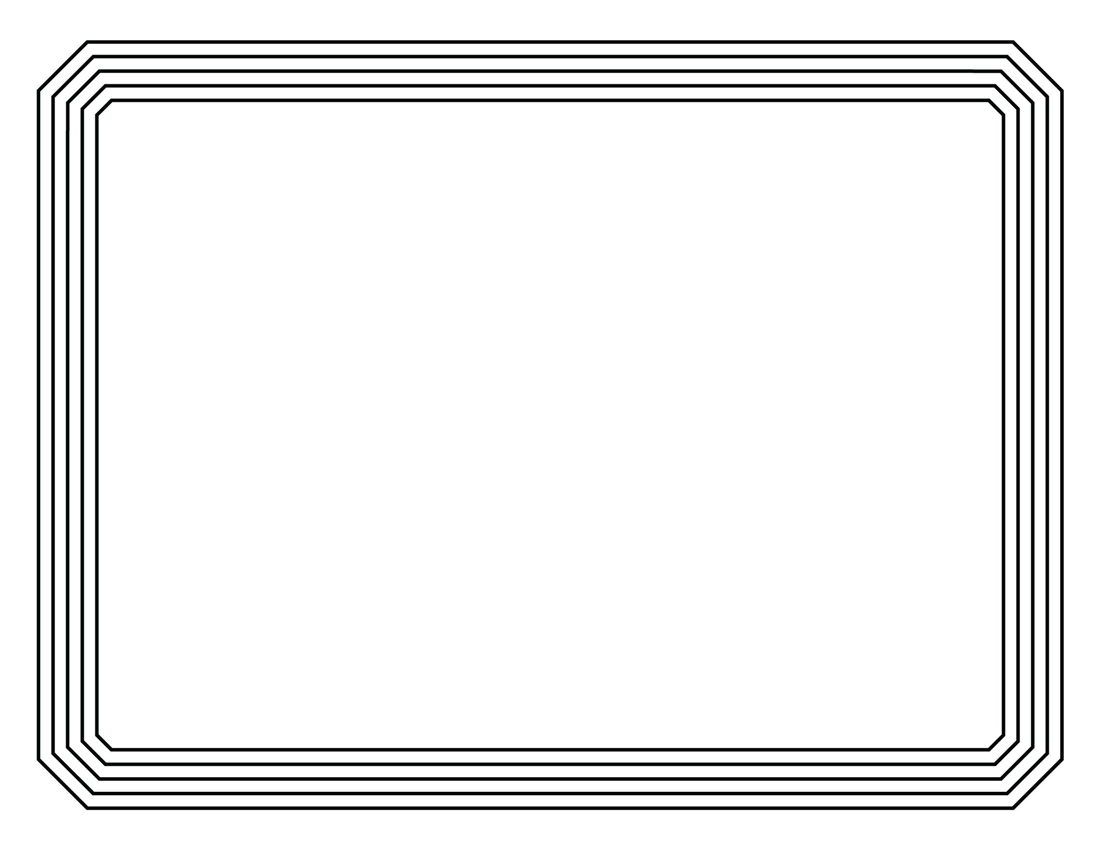 Basketball border for microsoft word