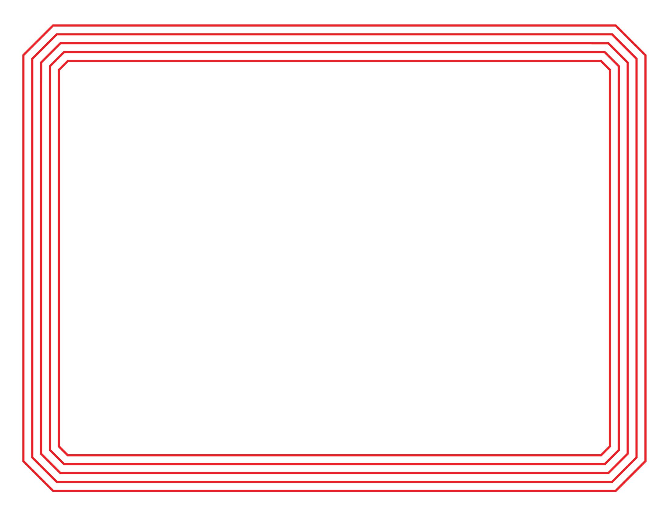 Resume borders on word – Microsoft Office Borders Templates