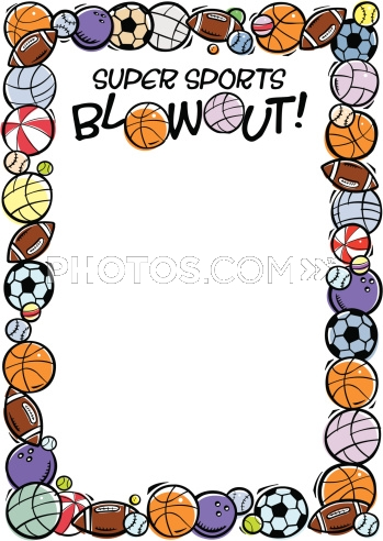 Free Sports Borders Cake Ideas   Clipart Panda - Free Clipart Images