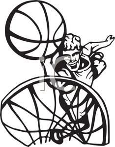 basketball player clipart black and white clipart panda free rh clipartpanda com baseball clipart black and white baseball clipart black and white