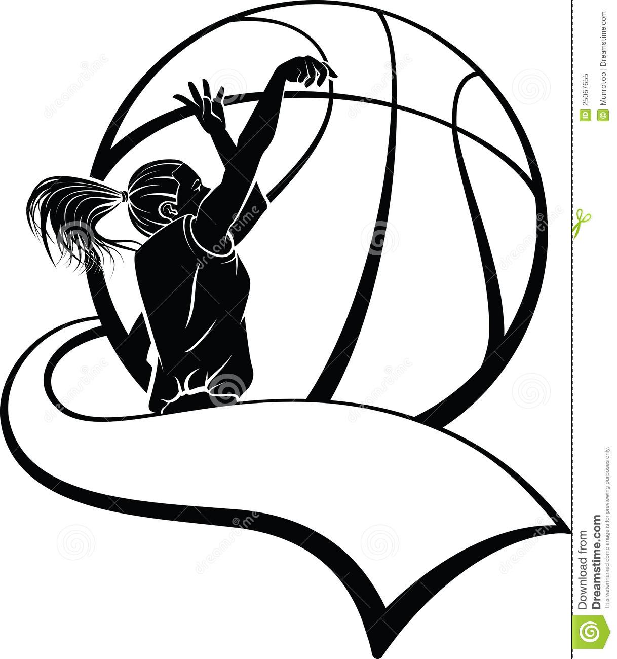 Girls Basketball Clipart #1 | Clipart Panda - Free Clipart