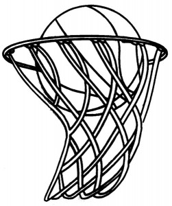 Basketball Hoop Clipart Black Clipart Panda Free Clipart Images