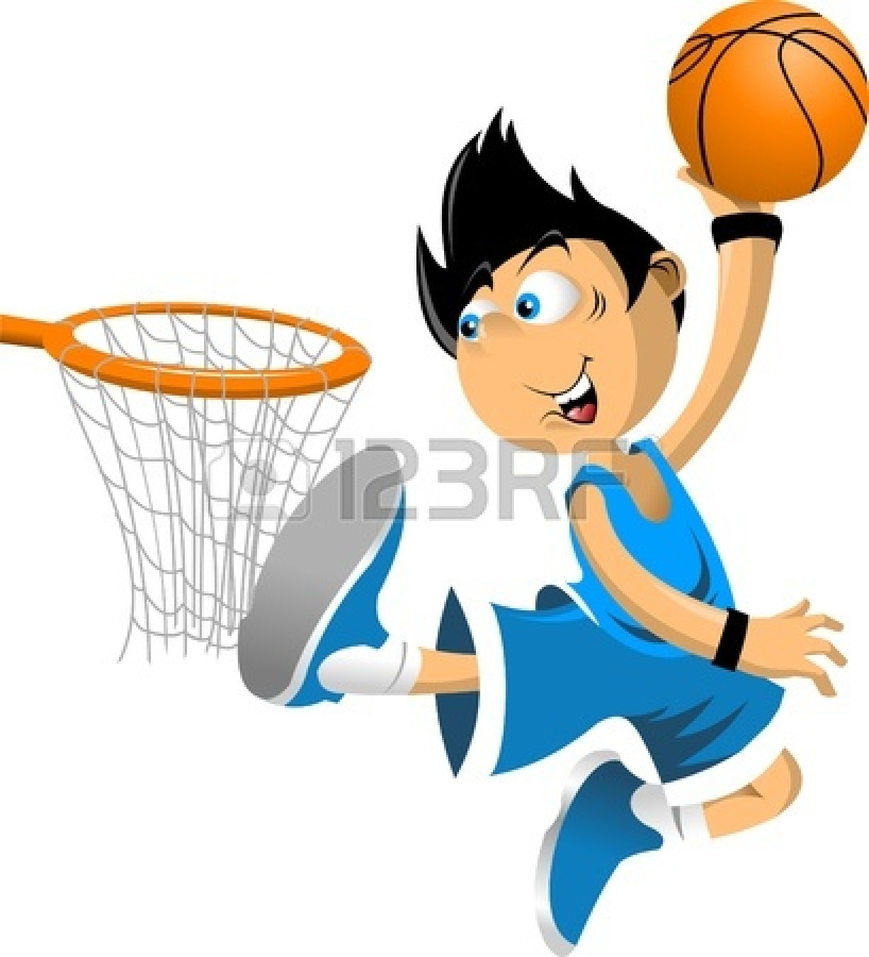 Basketball Player Dunking Clipart | Clipart Panda - Free Clipart ...