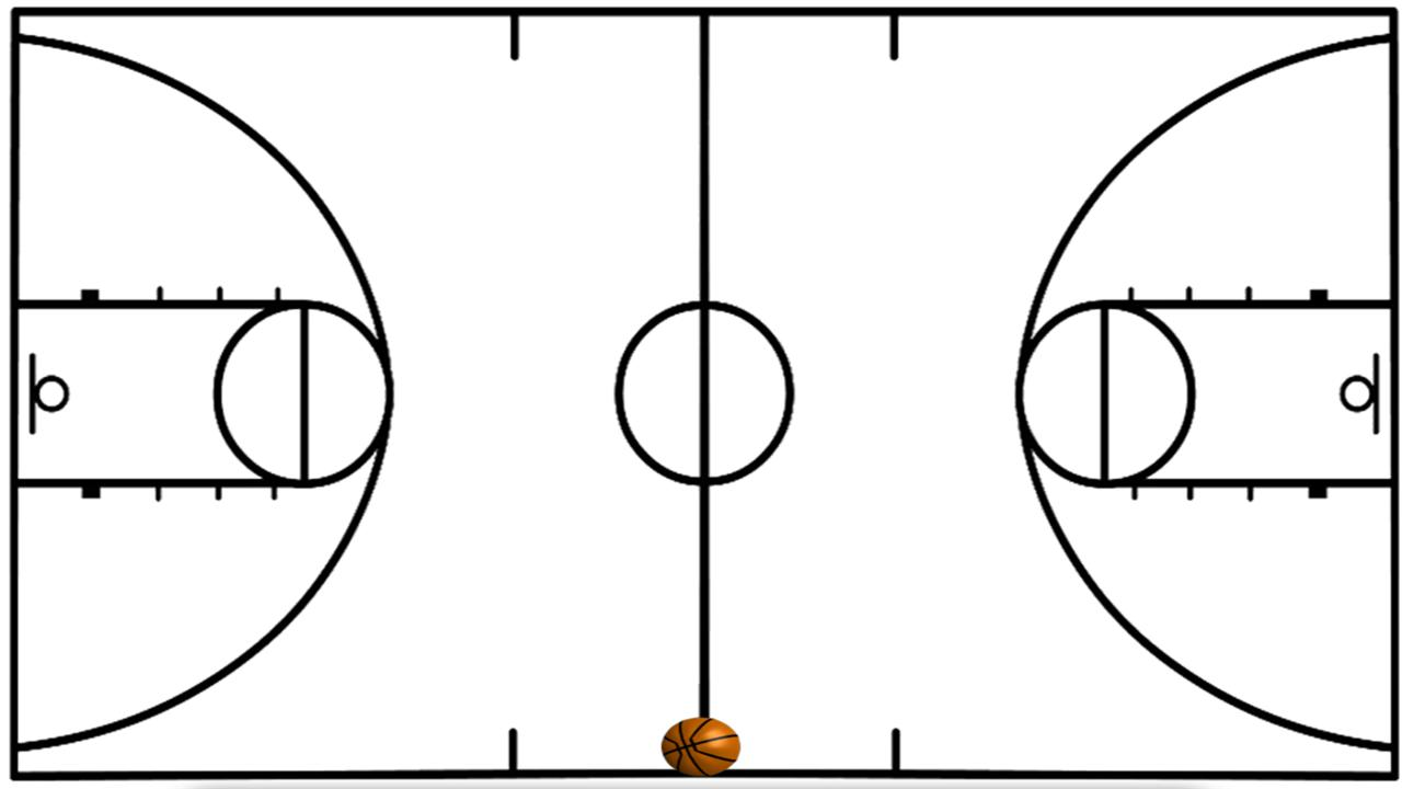 Nba Basketball Court Diagram Basketball%20half%20court%