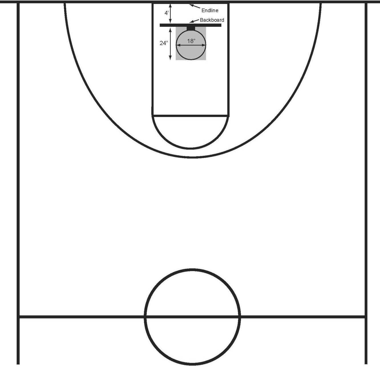 Basketball Half Court Clip Art Clipart Panda Free Clipart Images