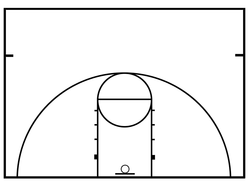 Printables Basketball Court Images New Calendar Template