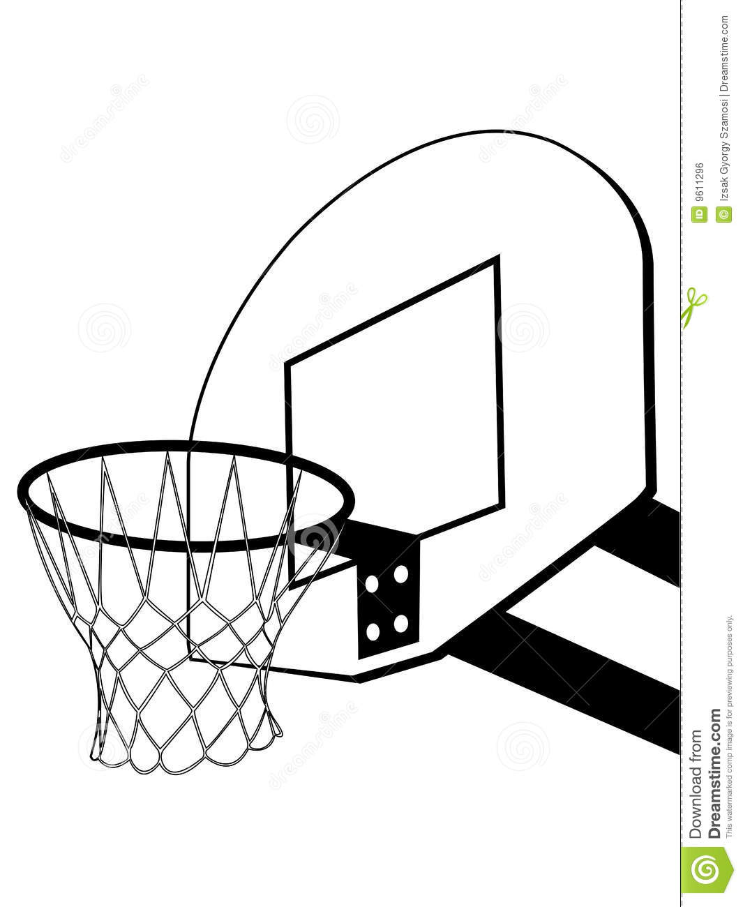 Spalding Basketball Coloring Coloring Pages