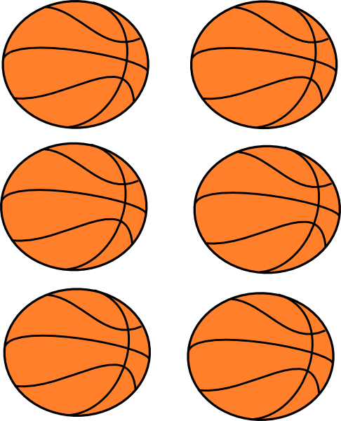 Basketball Hoop Border | Clipart Panda - Free Clipart Images