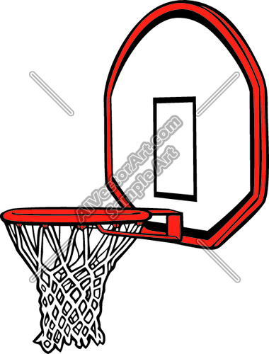 basketball net clipart free - photo #47