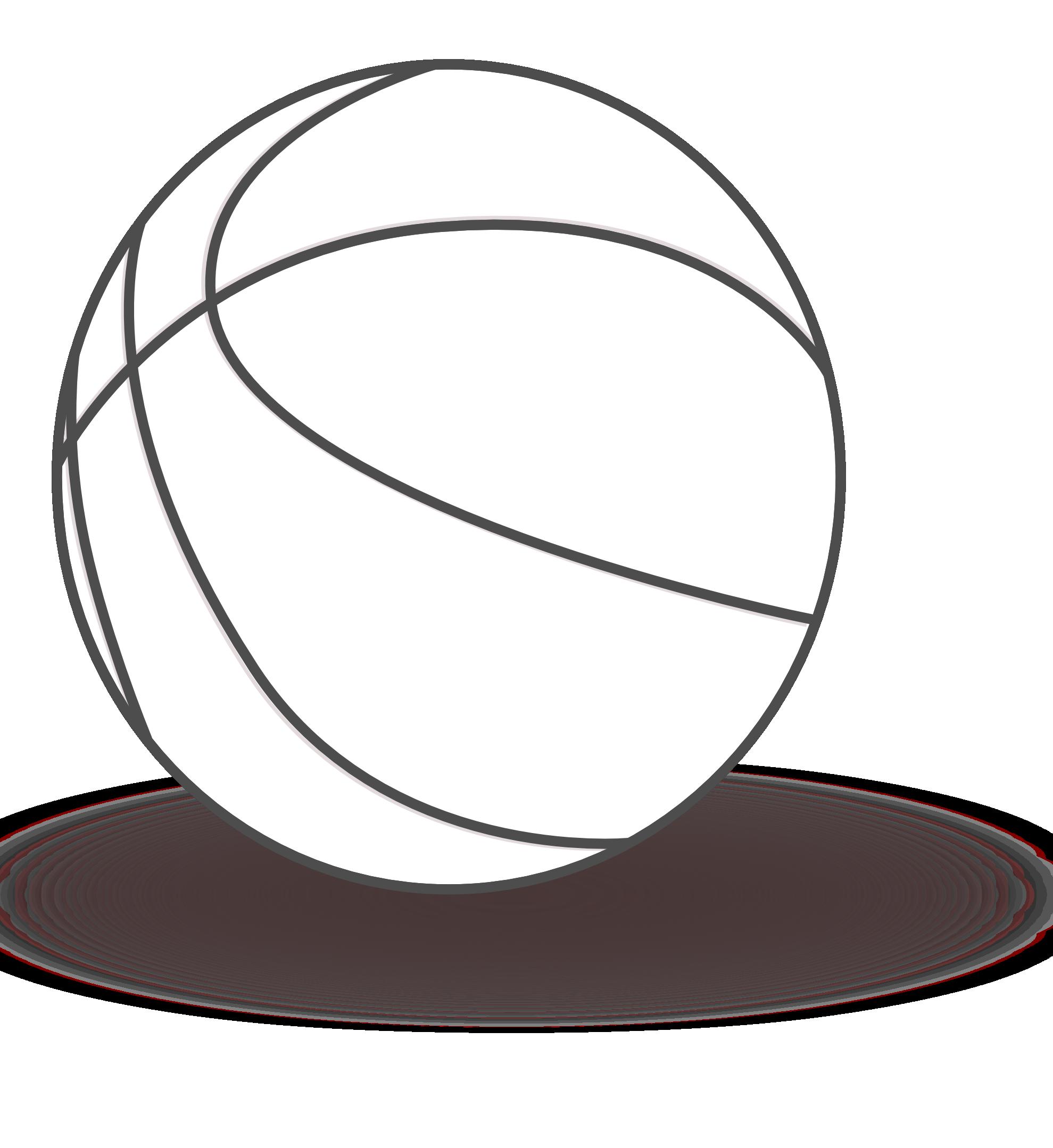 basketball-hoop-clipart-black-and-white-basketball_black_white_line ...